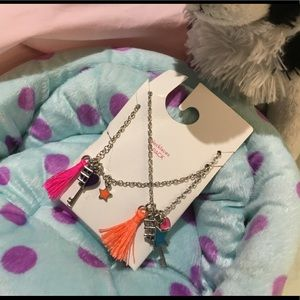 Set of BFF  necklaces